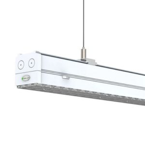 1.5M L/R Asymmetric Angle Linear Suspension Lighting Fixtures 36-70W Dimming