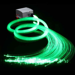 10W LED Fiber Optic Star Ceiling Kit 300 Plastic Fiber Optic Strands 4M Long