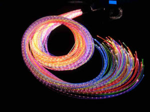 12W RGBW LED Fibre Optic Childrens Lights with 200 Optical Cables