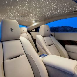 12W Rolls Royce Wraith Starlight Headliner Kit 305 Plastic Fiber Optic Strands