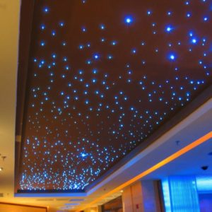 12W RGBW Color Changing LED Fiber Optic Light Star Ceiling Tiles