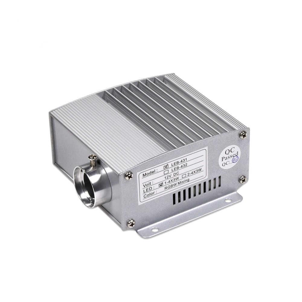 4x3w Rgbw Led Fiber Optic Illuminator For Star Ceiling Kit Sanliled Cn
