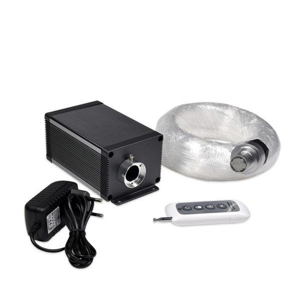 5W 12V Dimmable LED Fiber Optic Ceiling Light Kit Products 188 PMMA Fiber Optic Cable