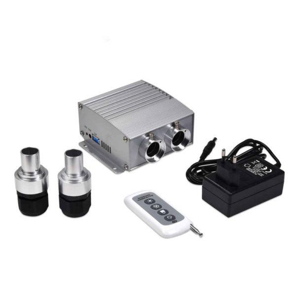 Dual 24W RGBW LED Illuminator for Fiber Optic Ceiling Kit