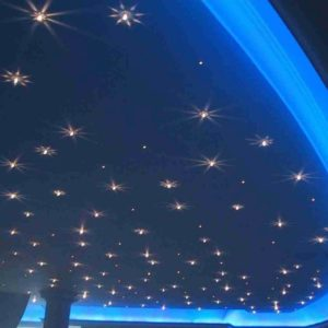 Dual 10W LED Fiber Ceiling Lights that Look Like Stars