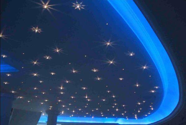 Dual 10W LED Fiber Ceiling Lights that Look Like Stars