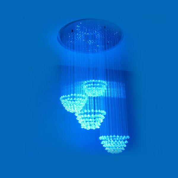 PingPong Fiber Optic Light Chandelier FOC-032
