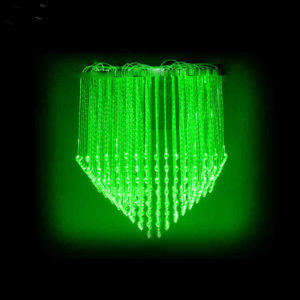 Small Cone Fiber Optic Light Chandelier 0.6x0.6 Meter FOC-018