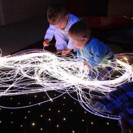 sensory fiber optic strands - Sanli LED co ltd