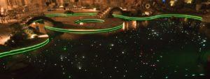 80W Waterproof LED Fiber Optic Pool Lights for Inground Pools