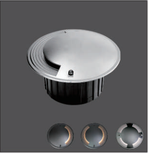 4W Outdoor Wall Mounted LED Deck Stair Lights for Stairs Kit