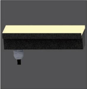 12/24/48W Wide 50.5mm Underground LED Lighting Fixtures