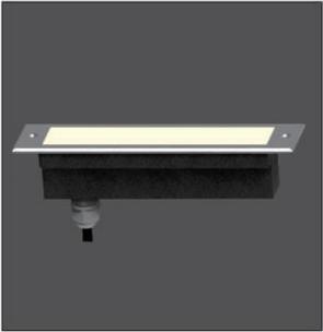 12/24/48W Linear LED Underground Light Fitting