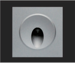 1x3W Square Small Recessed Step Lights Indoor