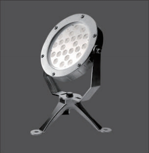 24x2W Waterproof Underwater LED Lights for Water Features