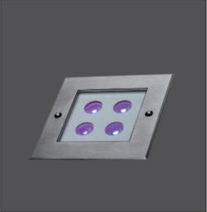 4x2W Outdoor IP68 LED Recessed Ground Lights