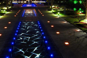 4x2W Outdoor IP68 LED Recessed Ground Lights Application