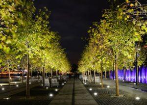 10W Outdoor in Ground Lighting Fixtures Application