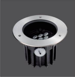9x3W in Ground Recessed LED Outdoor Lighting