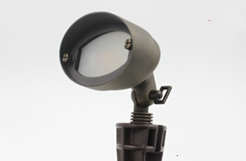 25W Brass/Aluminum Low Voltage Flood lights Outdoor