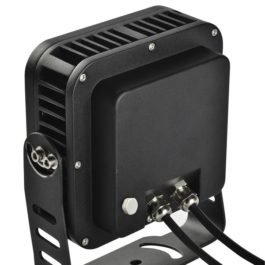 Back of Square 24W Best Outdoor LED Flood Light Fixtures