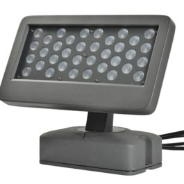 Front of 60W High Quality Industrial White Outdoor LED Flood Lights