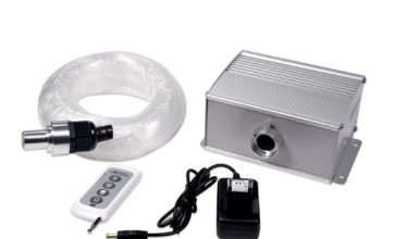 SANLI LED 10W Color Changing Chinly Fiber Optic Lights for Ceiling