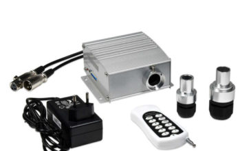 SANLI LED 4*3W DMX RGB Chinly LED Fiber Optic Light Engine